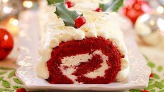 Red Velvet Roulade Cake (Gluten Free) - Gemma