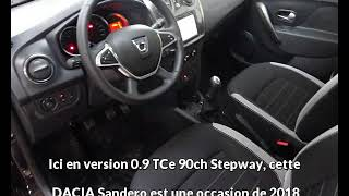 DACIA Sandero 0.9 TCe 90ch Stepway à Rodez - Une occasion Autotransac