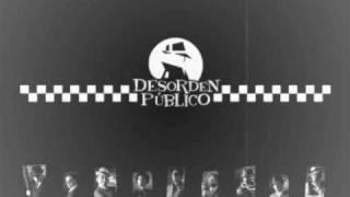 Gambar cover Desorden Público - El hombre con la pistola (completo)