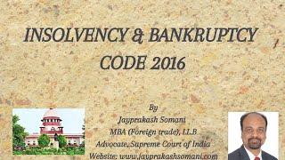 admin/ajax/Insolvency & Bankruptcy Code 2016
