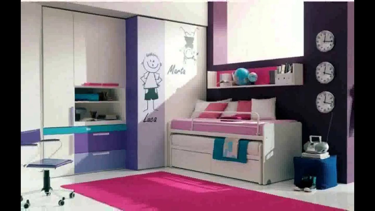 room ideas for teenagers with small rooms - youtube