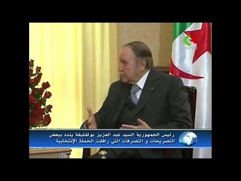 Bouteflika accuses Algeria poll rival of 'call to violence'