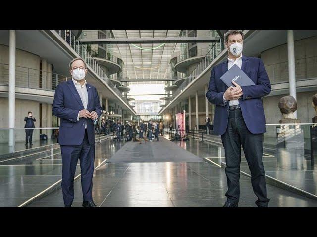 Krimi um K-Frage: Söder überlässt Entscheidung allein der CDU