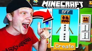 MAKING MY BEST FRIEND A MINECRAFT ACCOUNT!
