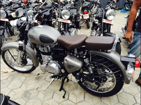 Royal Enfield Classic 350 Gunmetal Grey Walkaround | Classic 350cc New Colours Launched 2017