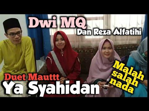 Bikin Video Sholawat Ya Syahidan Bersama Dwi MQ. Adegan Salah Di Akhir.