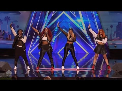 America's Got Talent 2016 Good Girl Mel B Girl Band Full Audition Clip S11E03