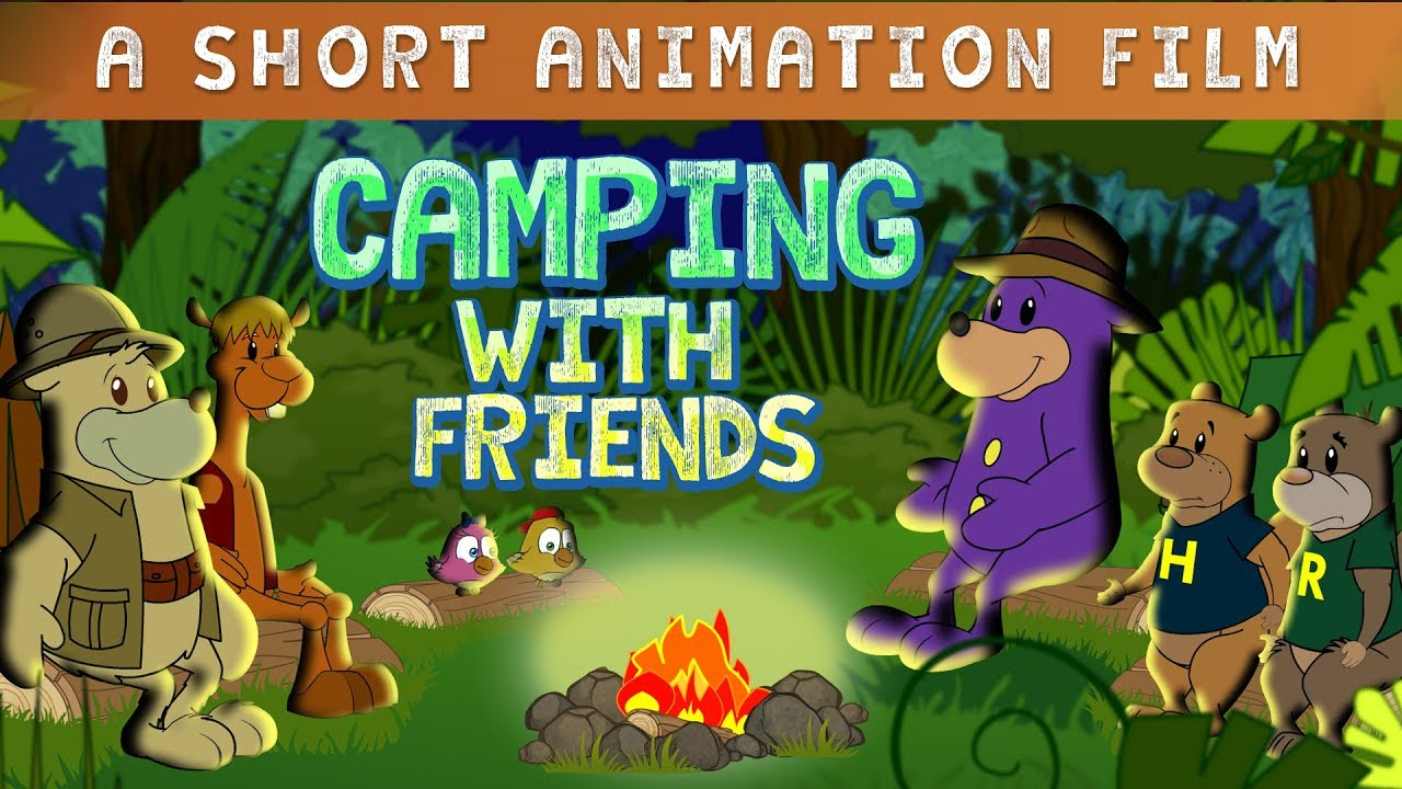 Download Camping With Zaky & Friends - Short Animation Film