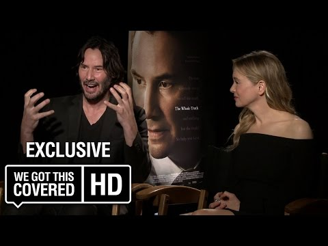Exclusive Interview: Keanu Reeves and Renée Zellweger Talk The Whole Truth [HD]