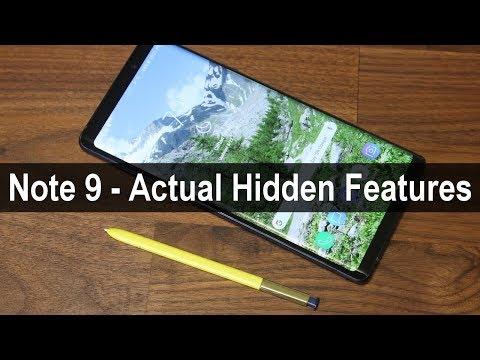 Samsung Galaxy Note 9 - 10 Actual Hidden Features EXPOSED