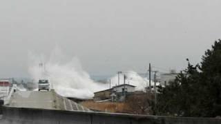 大津波 tsunami japan おいらせ町