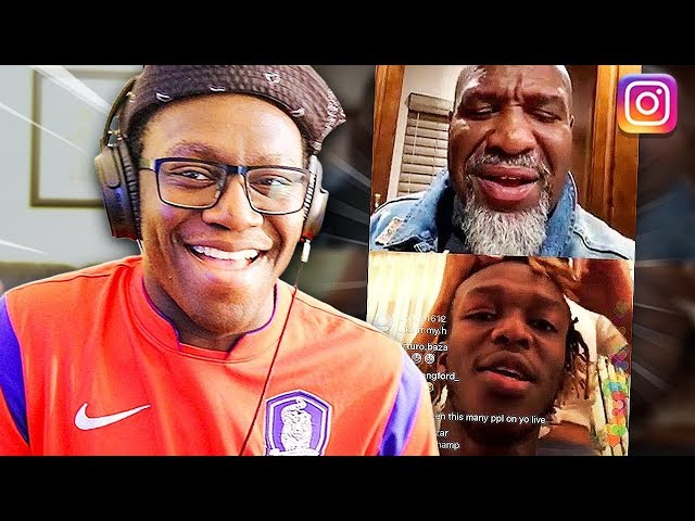 REACTING TO KSI CONFRONTING SHANNON BRIGGS