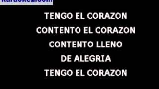 Corazón contento - Palito Ortega - Marisol - Karaoke2.com