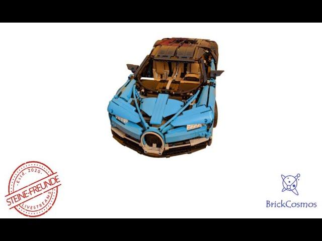 Folge 16 - Lego Technic Bugatti Chiron 42083