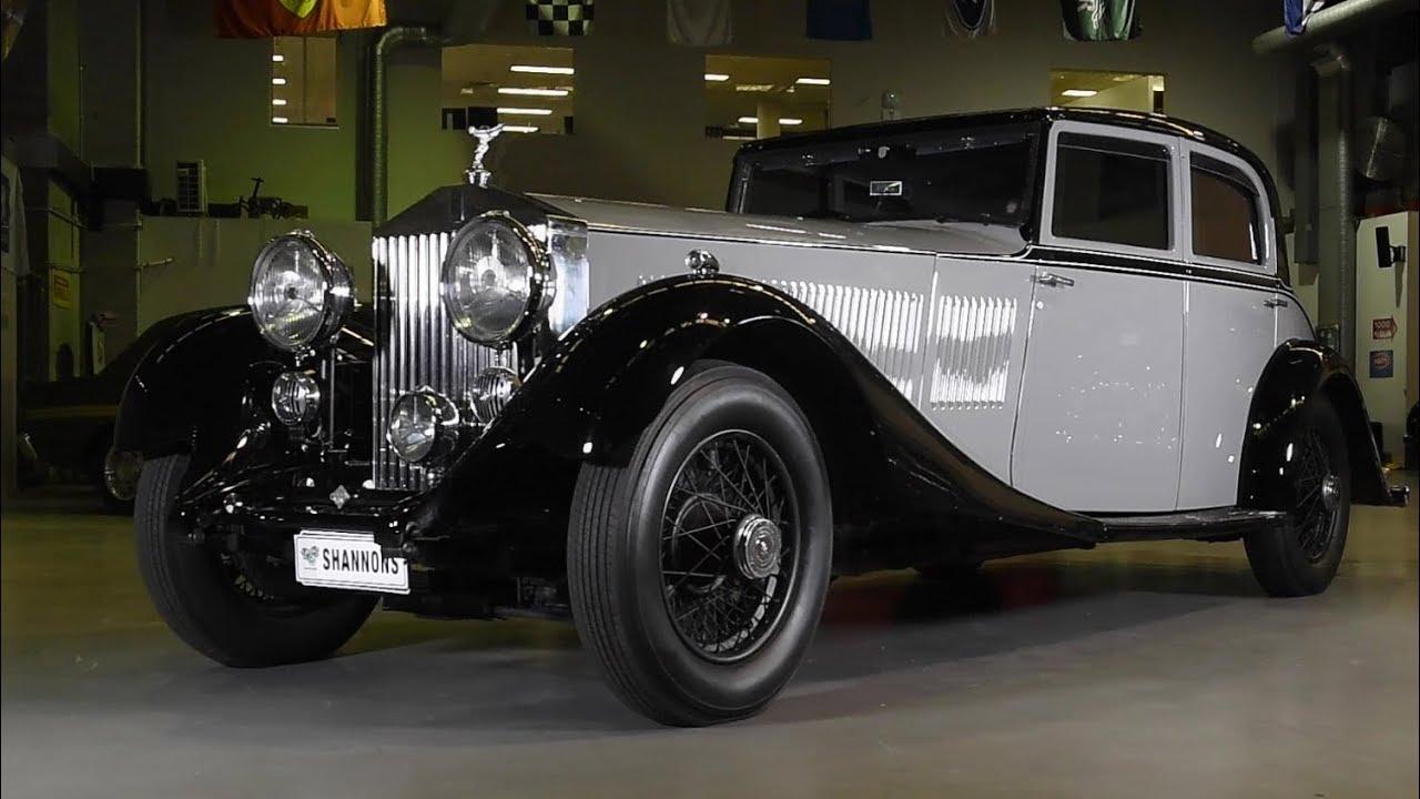 1934 Rolls-Royce Phantom II Continental Park Ward Sports Saloon - 2018 Shannons Sydney Spring Classic Auction