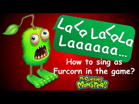 How To Sing As Furcorn In My Singing Monsters? (Furcorn Voice Change By Recording Studio)