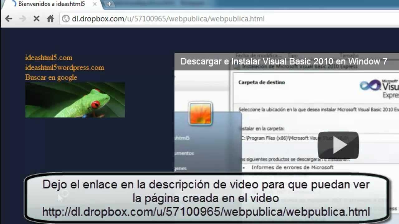 Dropbox Win7