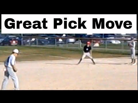 Smart 11-year-old pitcher picks off runner at 1st base
