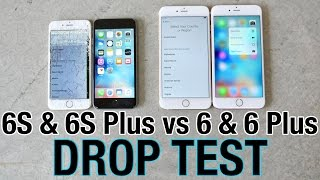 iPhone 6S VS iPhone 6S Plus Drop Test VS iPhone 6 & iPhone 6 Plus!