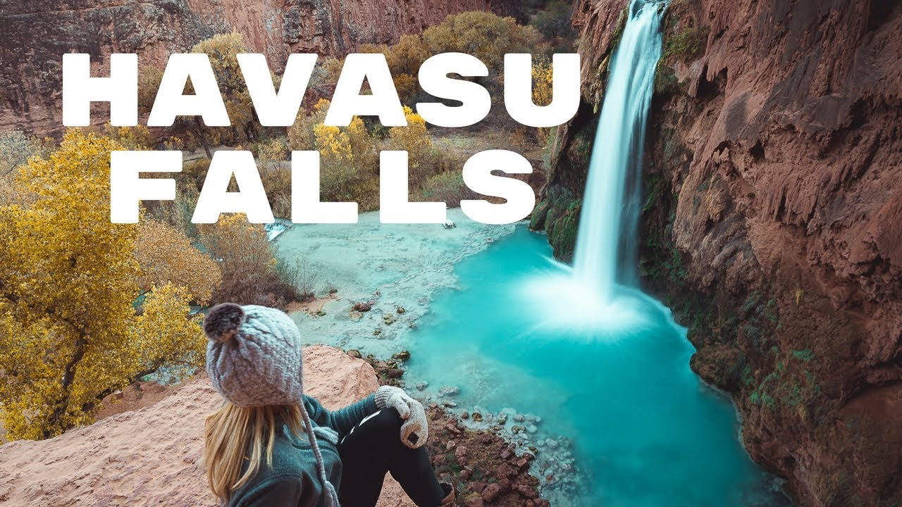 HIKING TO HAVASU FALLS + THE HAVASUPAI TRAIL   Exploring Havasupai Vlog    Part 15