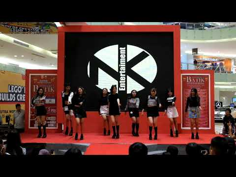 TWINE - Intro+Signal+Likey (twice dance cover) at Ciputra MALL