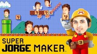 JORGE TE ENSEÑA A DISEÑAR JUEGOS - (SUPER MARIO MAKER) | DeiGamer