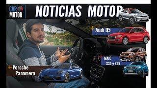 Nuevo Audi Q5, Kia Stonic, Porsche Panamera, lanzamiento Baic X35 y X55 - Noticias Car Motor Ep3