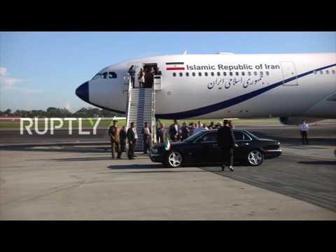 Cuba: Rouhani departs Havana following bilateral talks