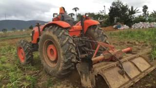 may cay kubota m9540 xoi dat