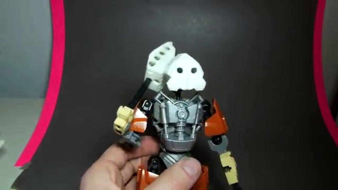 3d printed bionicle tools masks action packed torso build hd
