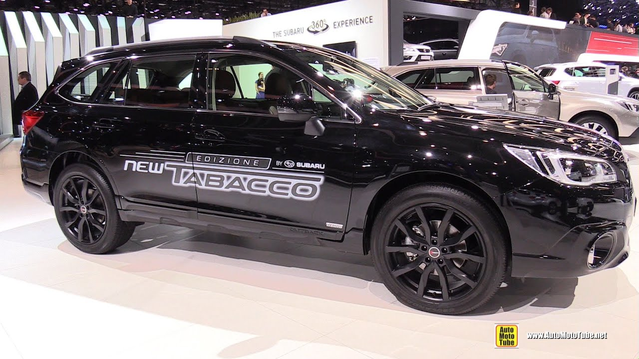 2018 subaru outback black. interesting subaru 2016 subaru outback 20 diesel awd  exterior and interior walkaround  geneva motor show youtube for 2018 subaru outback black