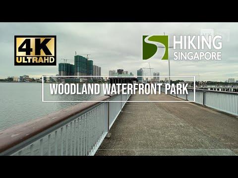 Woodland Waterfront Park - Hiking Singapore [4K] [HDR]