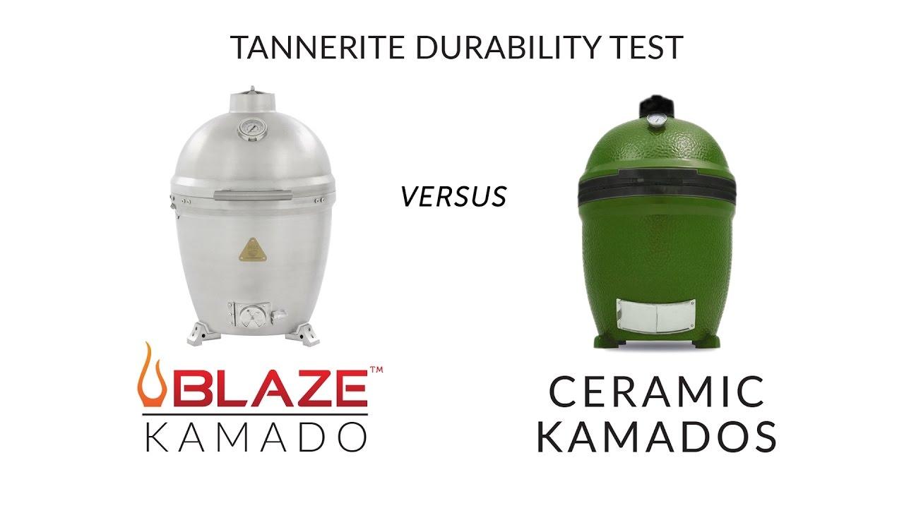 blaze aluminum kamado grill vs ceramic kamado tannerite. Black Bedroom Furniture Sets. Home Design Ideas