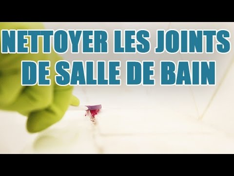 Blanchir joint en silicone doovi for Nettoyer les joints de douche