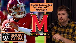 Taulia Tagovailoa Transferred To Maryland