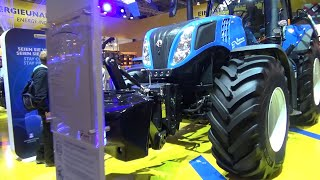 The NEW HOLLAND tractors 2020