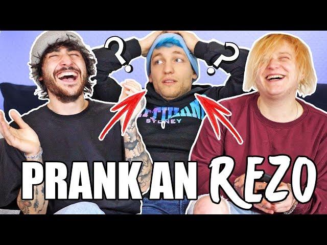 Der PRANK an REZO..! - Youtuber Telefon Challenge