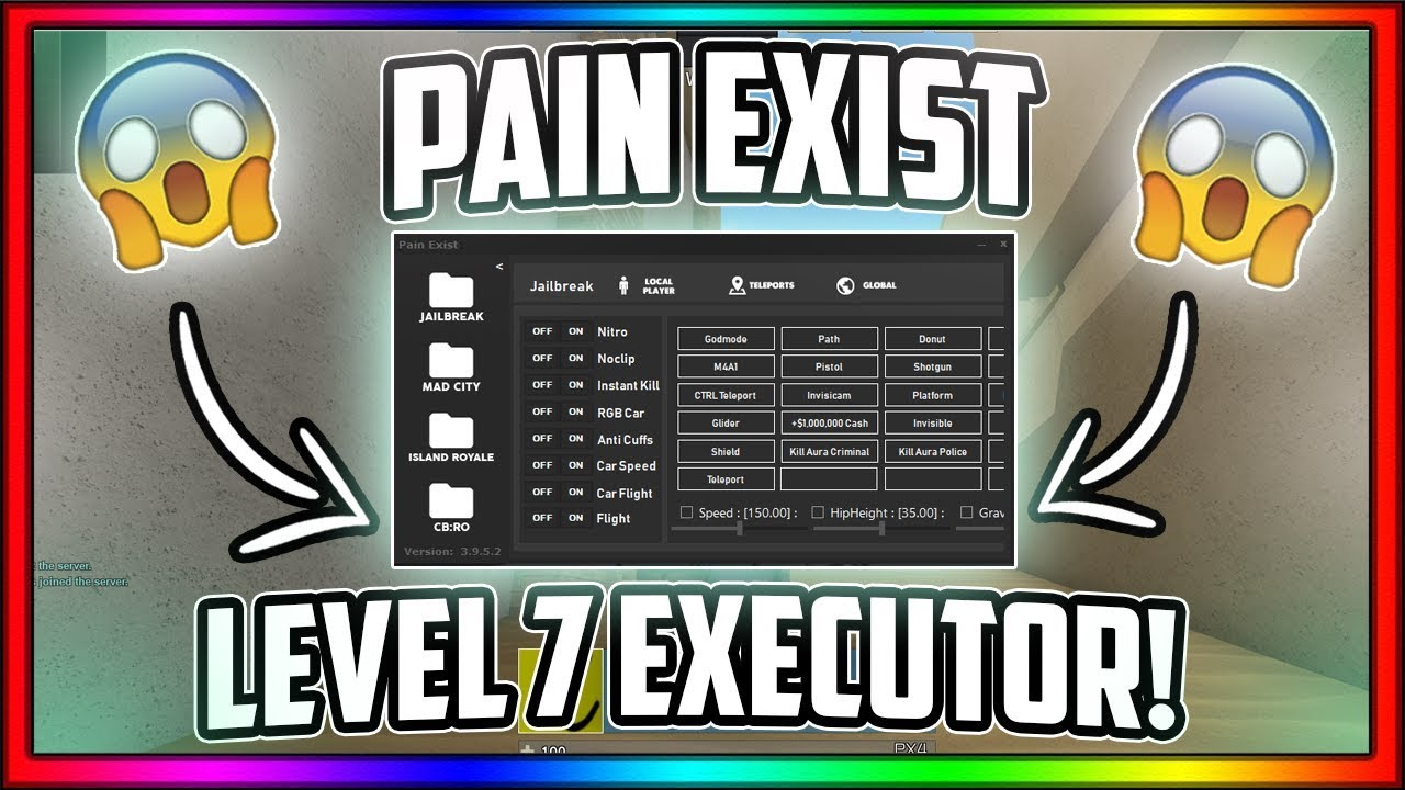 *NEW* OP LEVEL 7 EXECUTOR! (Games, Loadstrings, Full Lua) Pain Exist 3 9 5 2