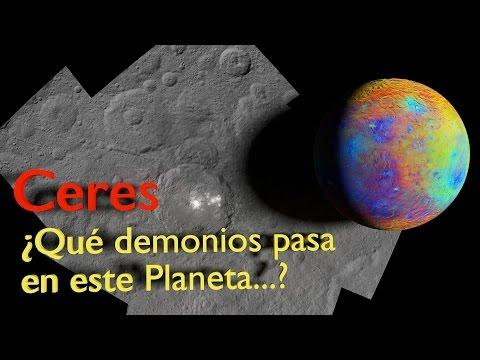 Ceres, ¿Qué demonios pasa en ese planeta…?
