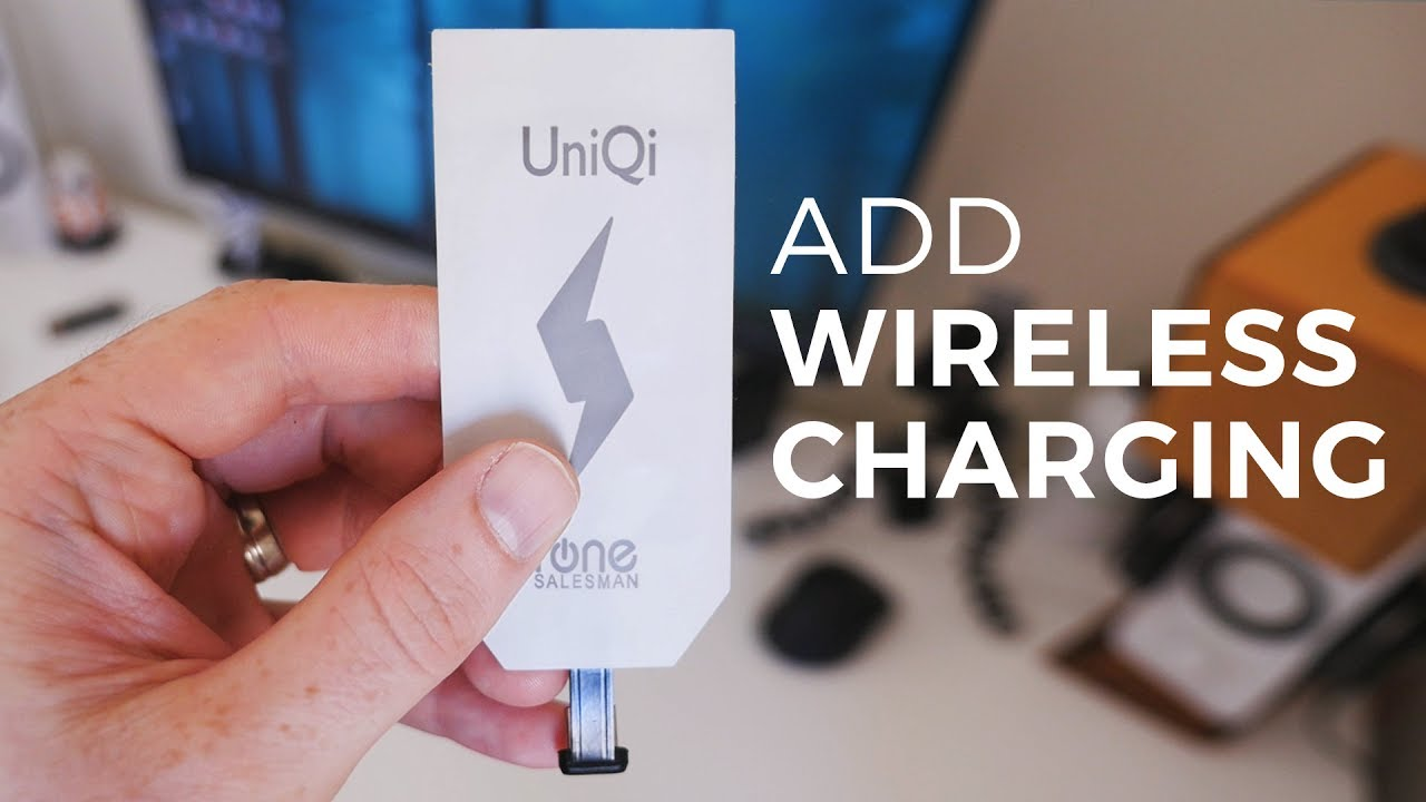 How To Add Wireless Charging Any Smartphone Youtube Universal Qi Charger Receiver Reveres Port For