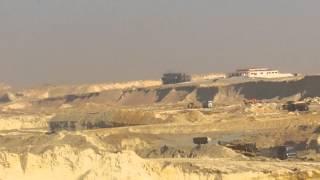 مشهد عام للحفر  ديسمبر 2014