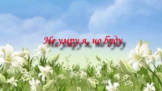 Не умру я, но буду -  Христианские песни Поклонения (караоке)
