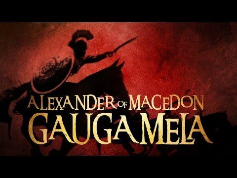 ALEXANDER OF MACEDON - THE BATTLE OF GAUGAMELA - TOTAL WAR ROME 2 CINEMATIC
