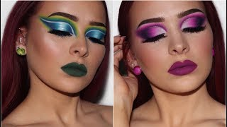 2 CREATIVE LOOKS | Morphe x James Charles Palette Review/Tutorial | PART 1