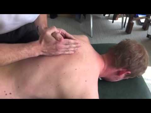 Spinal Manipulation to the cervico-thoracic spine, thoracic spine, ribs and lumbar spine thumbnail