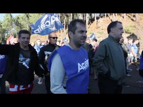 """Los funcionarios de A Lama vuelven a protestar por el """"deterioro"""" de sus condiciones"""