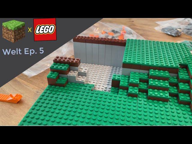 LEGO® X Minecraft World #5 - Eine Treppe und eine Garage