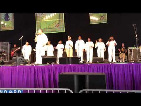 "Richard Smallwood & Vision ""I Will Sing Praises"""