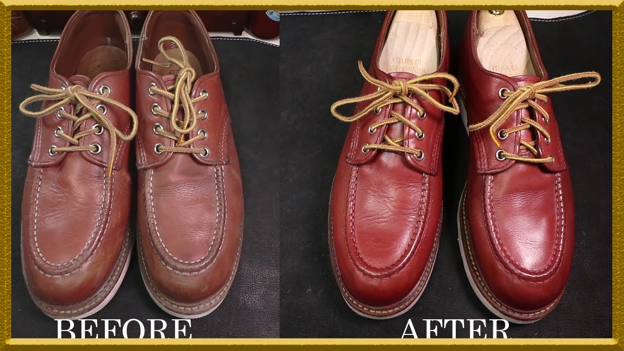 Asmr Clean Re Redwing 8103 Oxford Red Color Vetiver