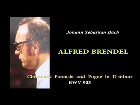 BRENDEL, J.S.Bach  Chromatic Fantasia and Fugue in D minor, BWV903
